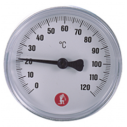 Thermometer mit...