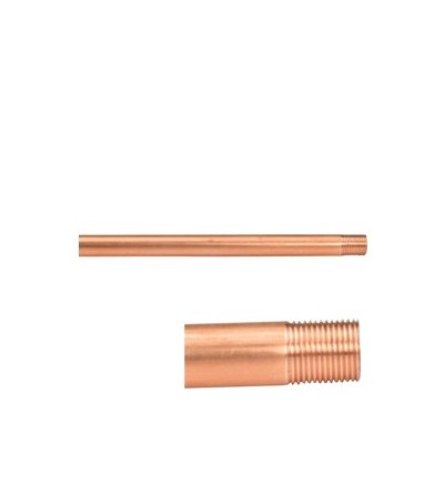 Threaded copper probe for single-pipe and twin-pipe valves Giacomini R171F