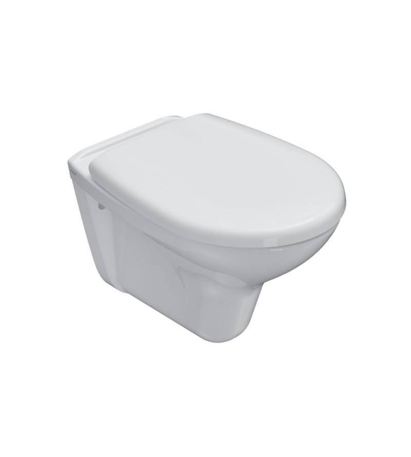 Vaso WC in ceramica installazione sospesa 52.35 Globo New Arianna A5S02BI