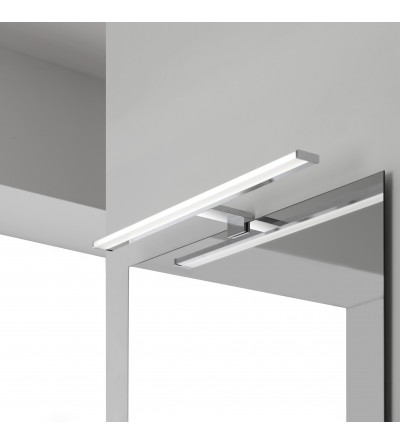 Lampada LED 5.5 W in ABS colore cromo Feridras 821003
