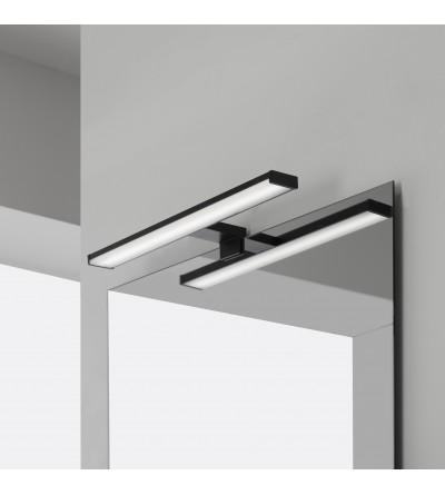 LED lamp in matt black 50 cm Feridras 821004