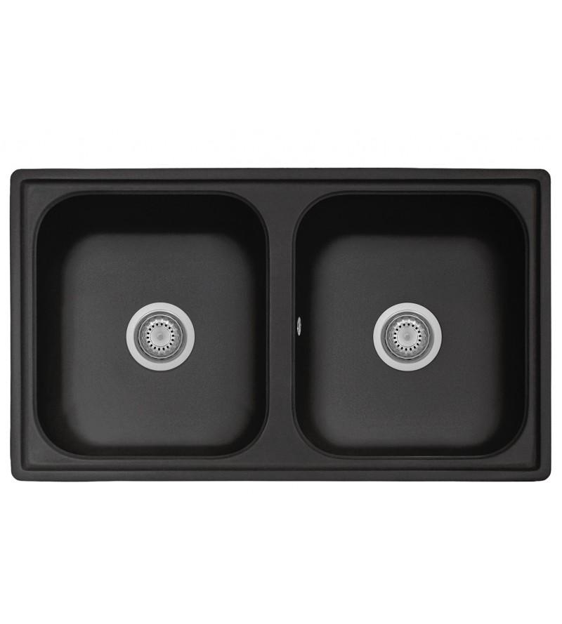 Kitchen sink in anthracite...