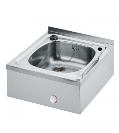 Stainless steel sink for wall mounting Idral 09160/0