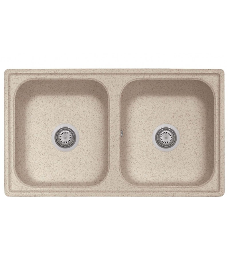 Kitchen sink in oat color...