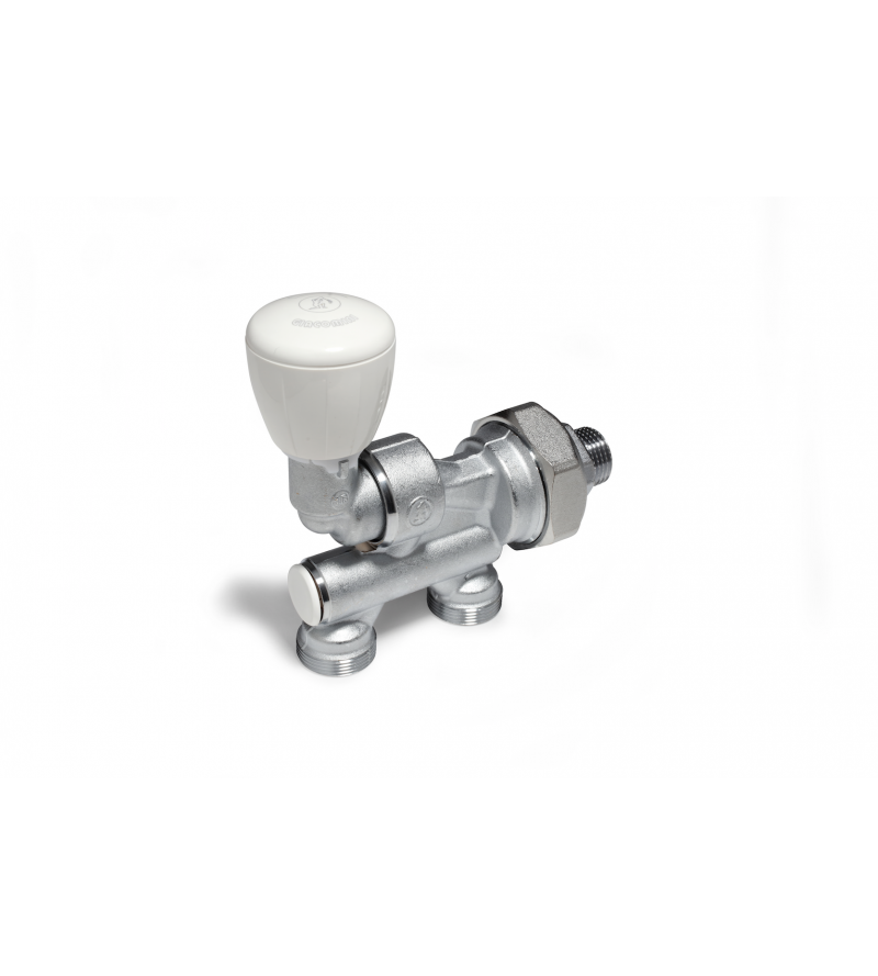Micrometric valve with...