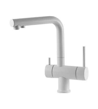 Miscelatore lavello cucina acqua depurata 3 vie Gattoni 0195/PCC0