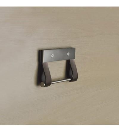 Wall-mounted toilet roll holder Capannoli Baio BA07