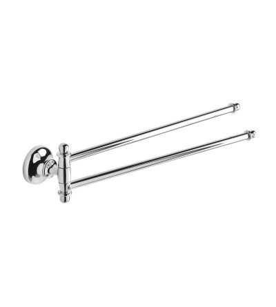 Double jointed towel holder Capannoli Serie900 911