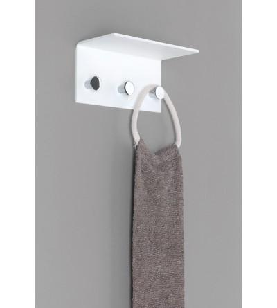 3 places coat hanger in plexiglass Capannoli Plexi PE109/3