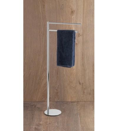 Standing towel holder 2 arms Capannoli Hoop HP171
