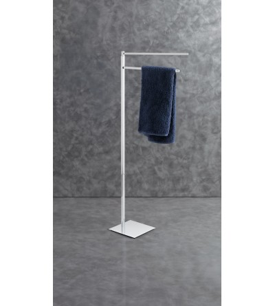 Standing towel holder 2 arms Capannoli Nook NK171