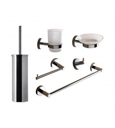 Bathroom accessories composition Capannoli Hoop HP100/8