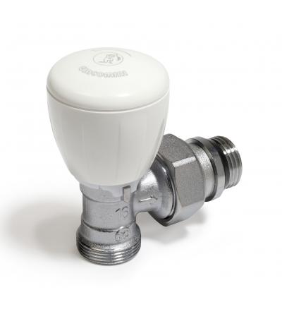 Micrometric angle valve with thermostatic option Giacomini R431TG