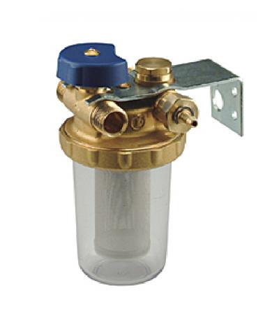 Filtro per gasolio con rubinetto a ricircolo Giacomini N1UB