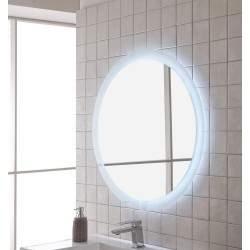 Espejo de baño redondo con...