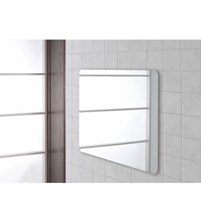 Specchio per bagno rettangolare 90x60 cm Feridras 178042