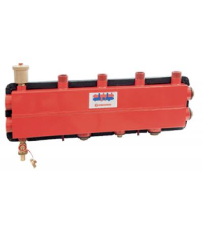 Collettore da centrale termica con separatore idraulico Giacomini R586SEP