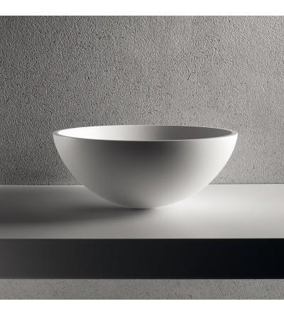 Basin Ø 39,5 cm. Sit-on installation Brera Sfera S
