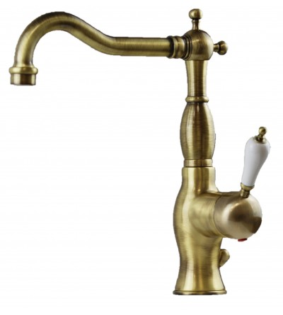 Miscelatore per lavabo modello antico colore bronzo Nice Funny 60600017BB