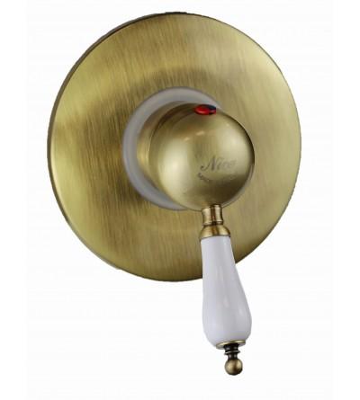 Miscelatore per cabina doccia colore bronzo antico Nice Funny 6060004BB