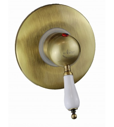 Mixer for shower cabin in antique bronze color Nice Funny 6060004BB