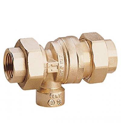 Backflow preventer, CA type Giacomini R624