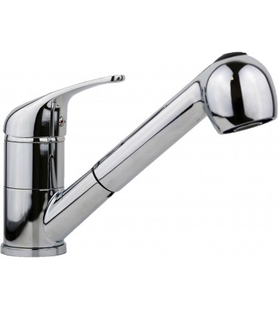 Two-function kitchen mixer with shower i Crolla 17070CR