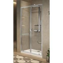 Apertura de puerta de ducha...