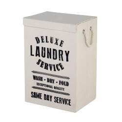 Wäschekorb in weißer Farbe...