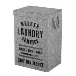 Laundry basket in gray...