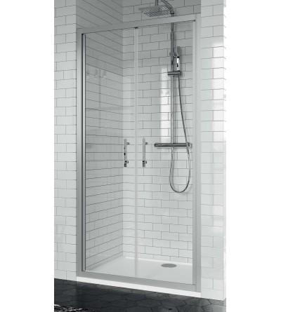 Porta doccia 2 ante battenti apertura verso l'esterno Novellini Zephyros B