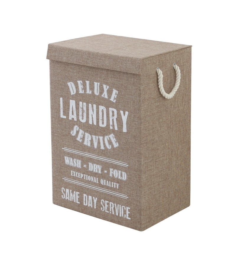 Laundry basket in brown...