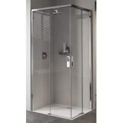 Box doccia ad angolo 2 ante...