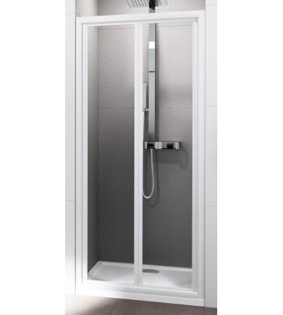 Porta doccia apertura 2 ante a soffietto Novellini Riviera 2.0 S