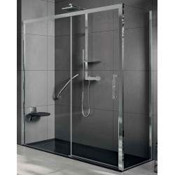 Fixed side panel for shower...