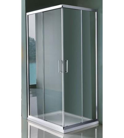 Corner shower enclosure with four doors Samo Cee Art B0916