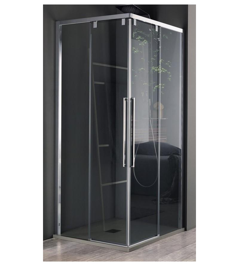 Four door corner shower box...