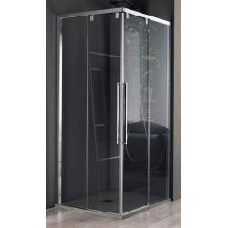 Box doccia ad angolo a...