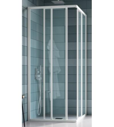 Corner shower enclosure with four doors Samo America B6816