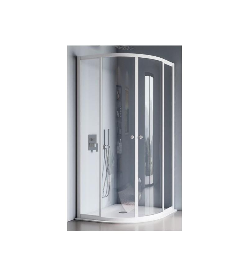 Rounded rectangular shower...