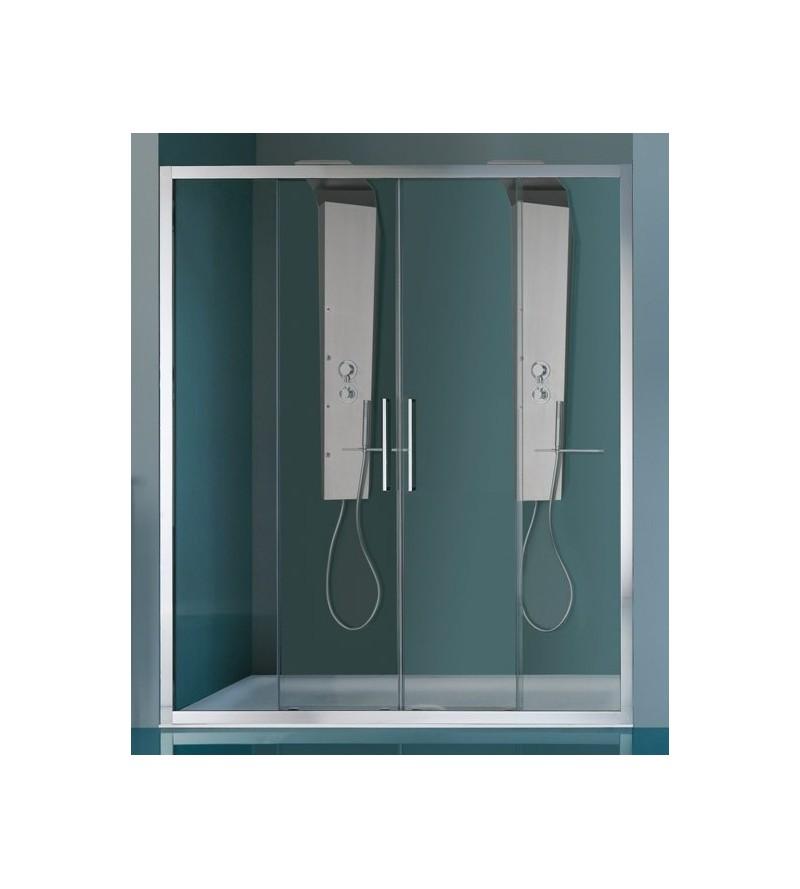 Shower door 2 sliding doors...