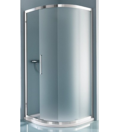 Round sliding shower enclosure with two doors Samo Europa B7863
