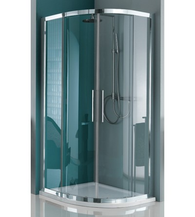 Round sliding shower enclosure with four doors Samo Europa B7853