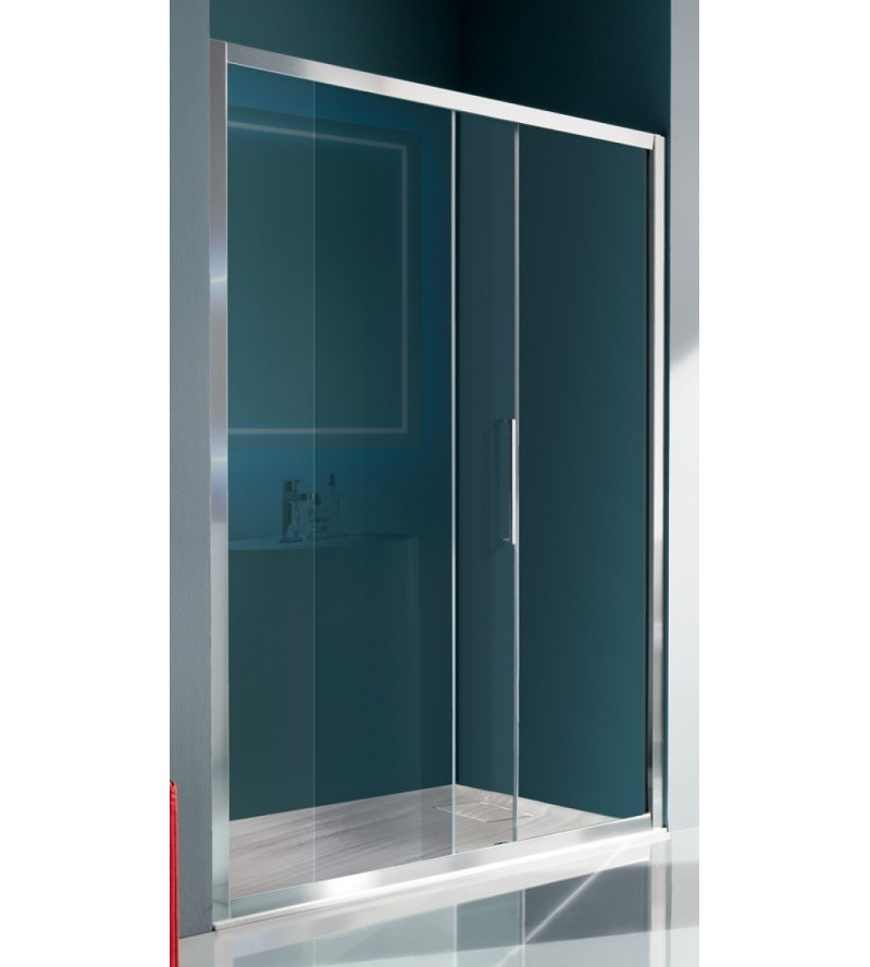 Porta doccia 1 anta scorrevole e 1 anta fissa Samo Europa B7880