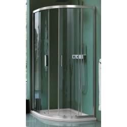 Round sliding shower...