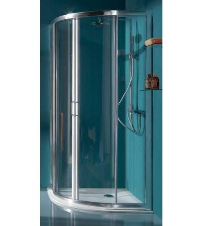 Round sliding shower enclosure with four doors Samo America B6870