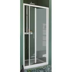 Folding shower door opening...