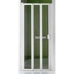 Shower door with 3 folding...