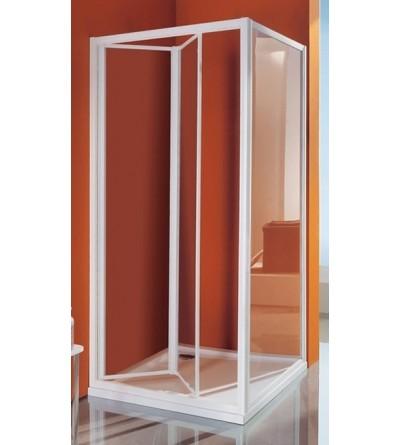 Porta doccia a soffietto apertura verso l'interno Samo Ciao B2660