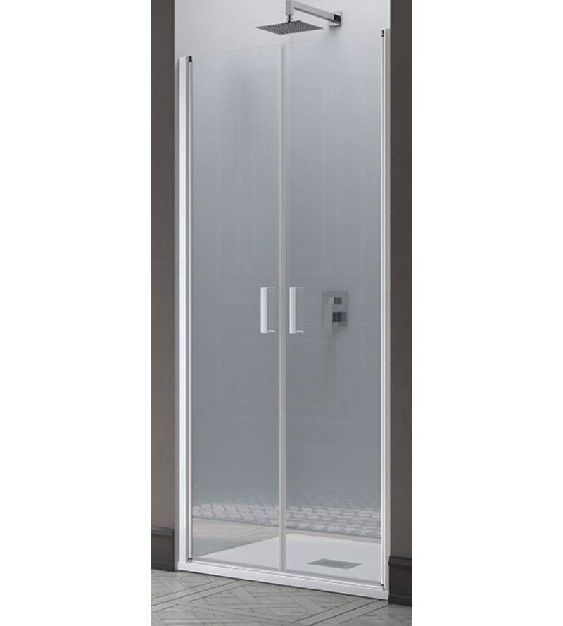 Saloon shower door opening...